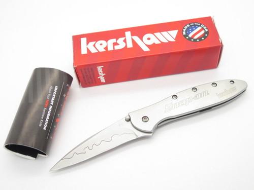 KERSHAW 1660 LEEK 1660CB SNAP ON CPM-D2 KEN ONION FOLDING POCKET KNIFE
