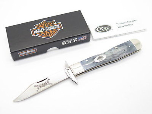 Case XX 6111 1/2 Harley Davidson Cheetah Swing Guard Folding Knife Limited