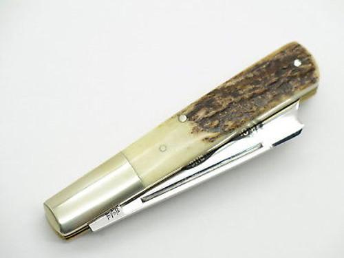 Vtg Parker Eagle Brand Seki Japan One Arm Pillbuster Folding Pocket Knife