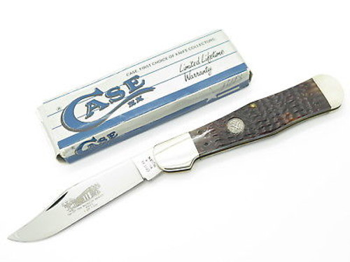 1990 Case XX 61050 Coke Bottle Folding Hunter Knife NKCA Museum Limited