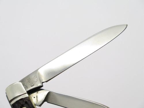 Vtg 1970s Boker USA Tree Brand 9903 2 Blade Jack Folding Pocket Knife