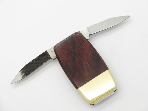 VINTAGE SANTA FE STONEWORKS SEKI JAPAN LOBSTER MONEY CLIP FOLDING POCKET KNIFE