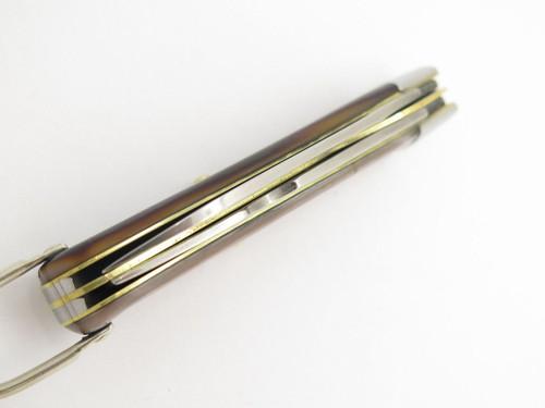 Vtg 1970s Boker USA Tree Brand 9229 2 Blade Electrician Pocket Knife