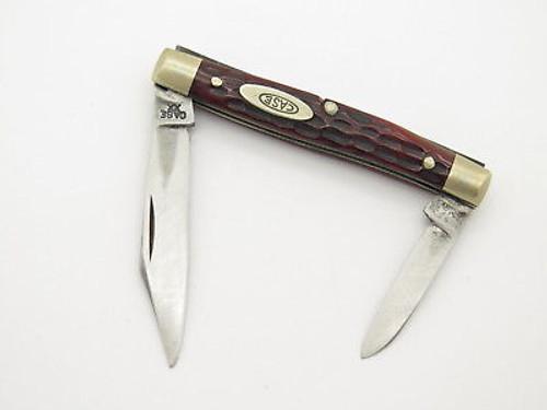 Vtg 1940-1964 Case XX 6233 Small Folding Pocket Knife Red Bone