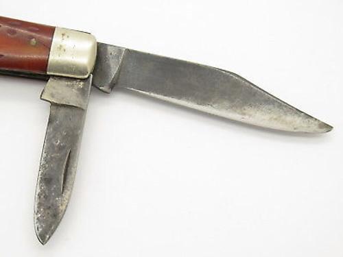 Vtg 1940-1964 Case XX Folding Pocket Jack Knife Red Bone