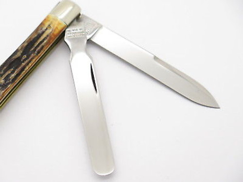 Case Classic XX 52085 Sambar Stag Doctor Physicians Folding Pocket Knife