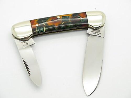 VTG 1997 BULLDOG BRAND SOLINGEN CANOE FOLDING POCKET KNIFE CELLULOID