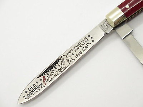 1996 Bulldog Brand Old Dominion ODKCA Club Doctor Folding Pocket Knife