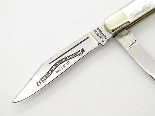 Vtg 1980 Parker Seki Japan MSKCA Le Doctor Pearl Mop Folding Pocket Knife