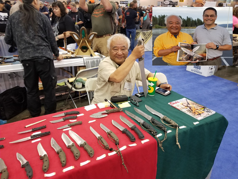 Kiku Matsuda Knives available NOW! Custom Made in Seki, Japan