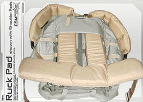 Ruck Pad (shown with shoulder pads, not included)