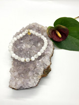 Selenite  bracelet-Medium
