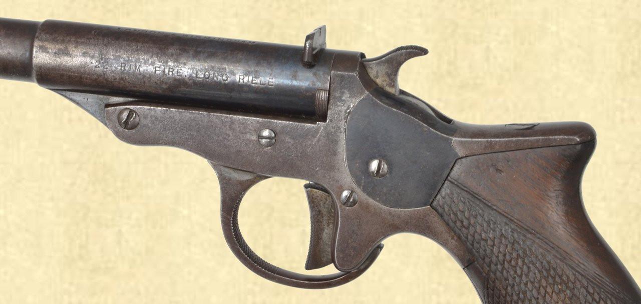 WEBLEY & SCOTT FIRST MODEL 22 SINGLE SHOT - C42121