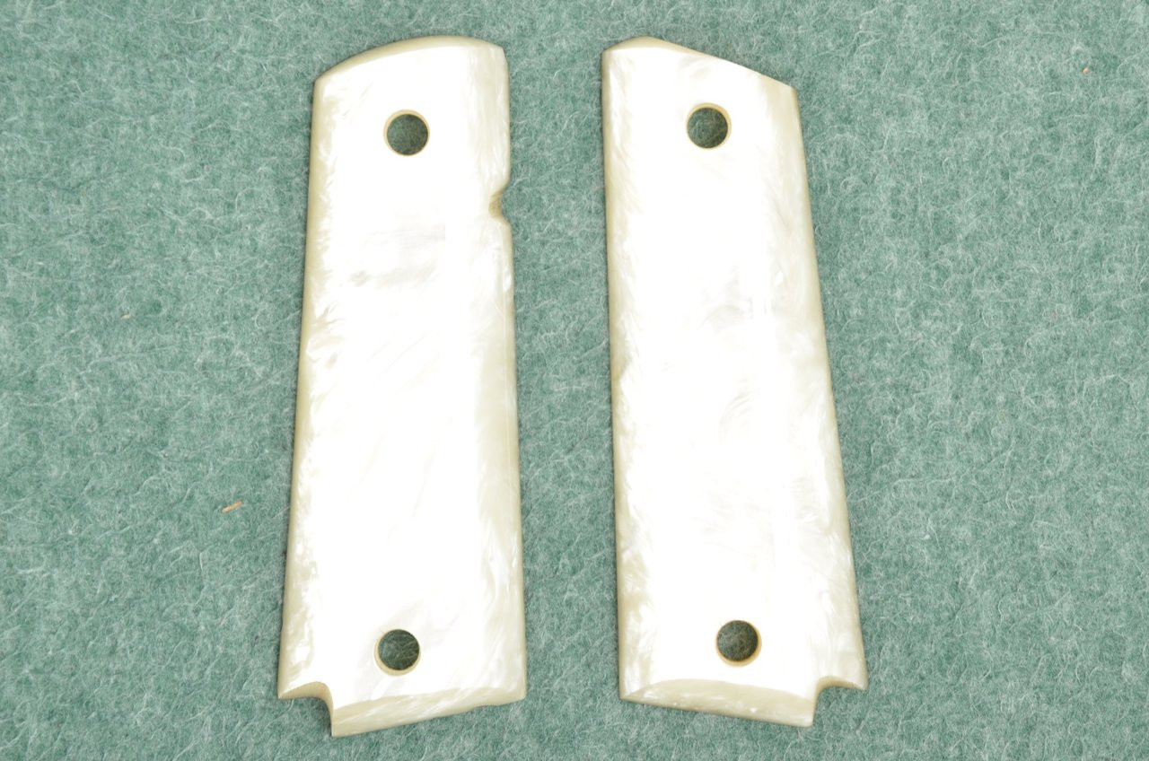 UNKNOWN ACRYLIC PEARL GRIP FOR COLT 1911 - C42164