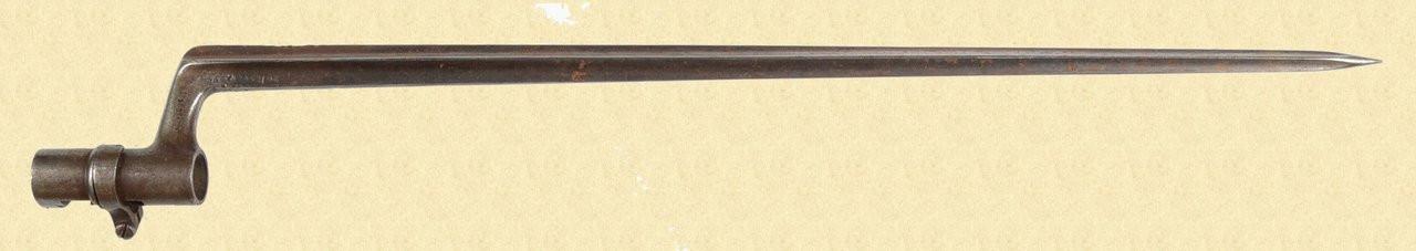 SWEDISH 1867 ROLLING BLOCK BAYONET - C26877