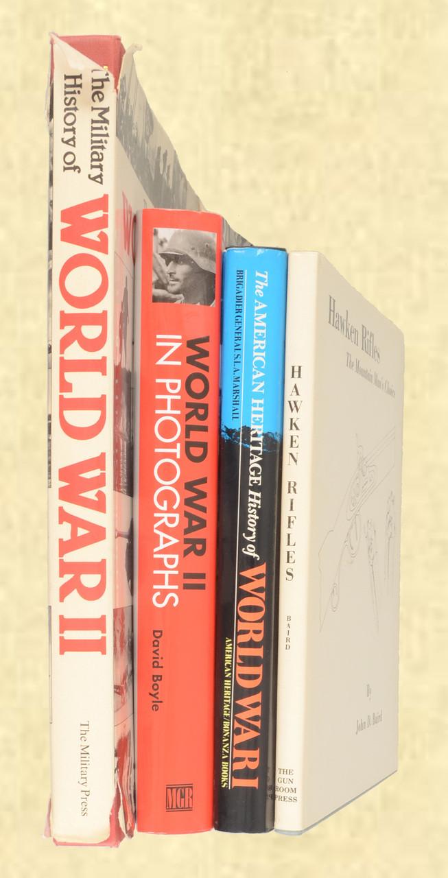 MILITARY BOOKS LOT OF 4 - C42571