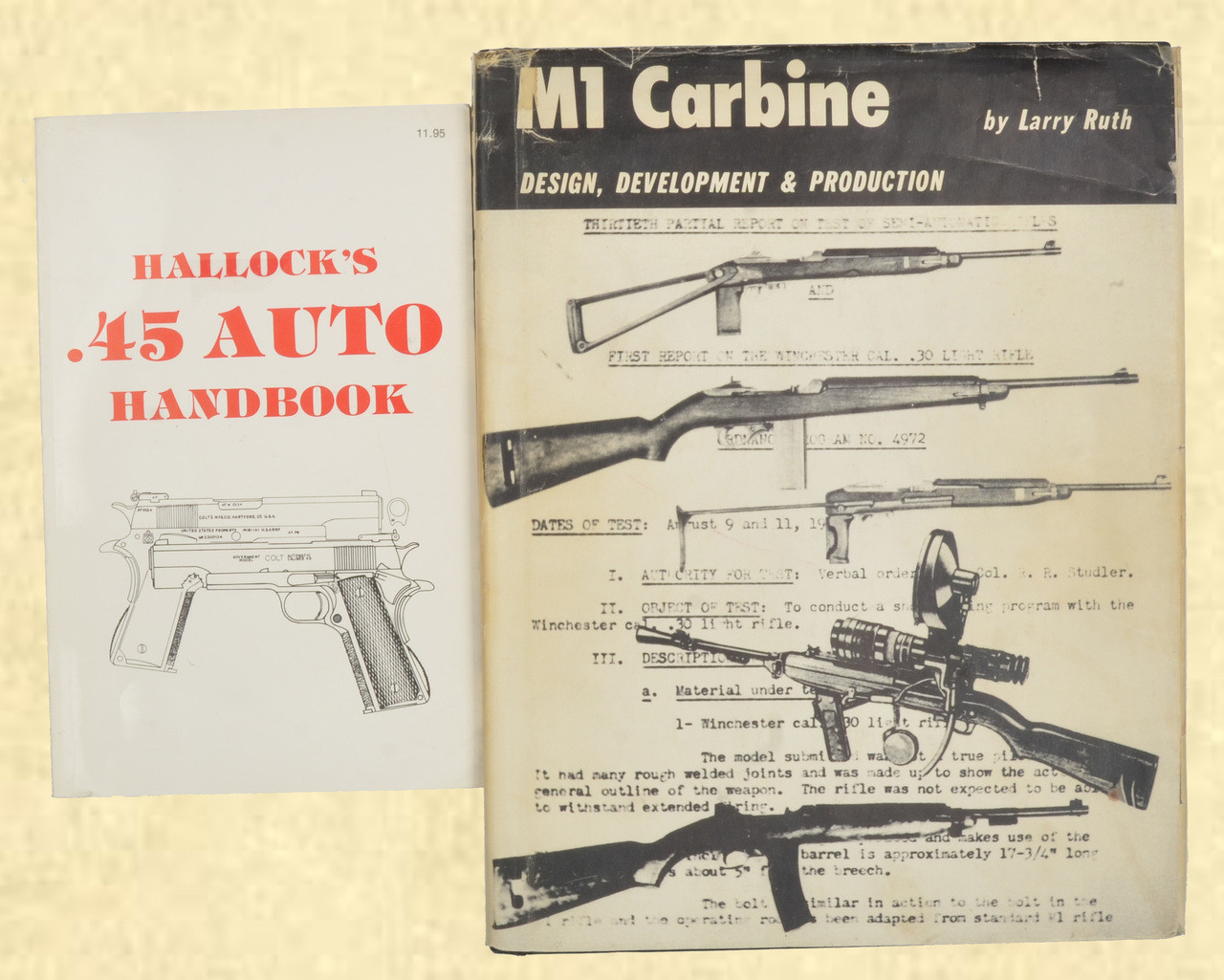 BOOKS SET 45 AUTO & M1 CARBINE - C42906