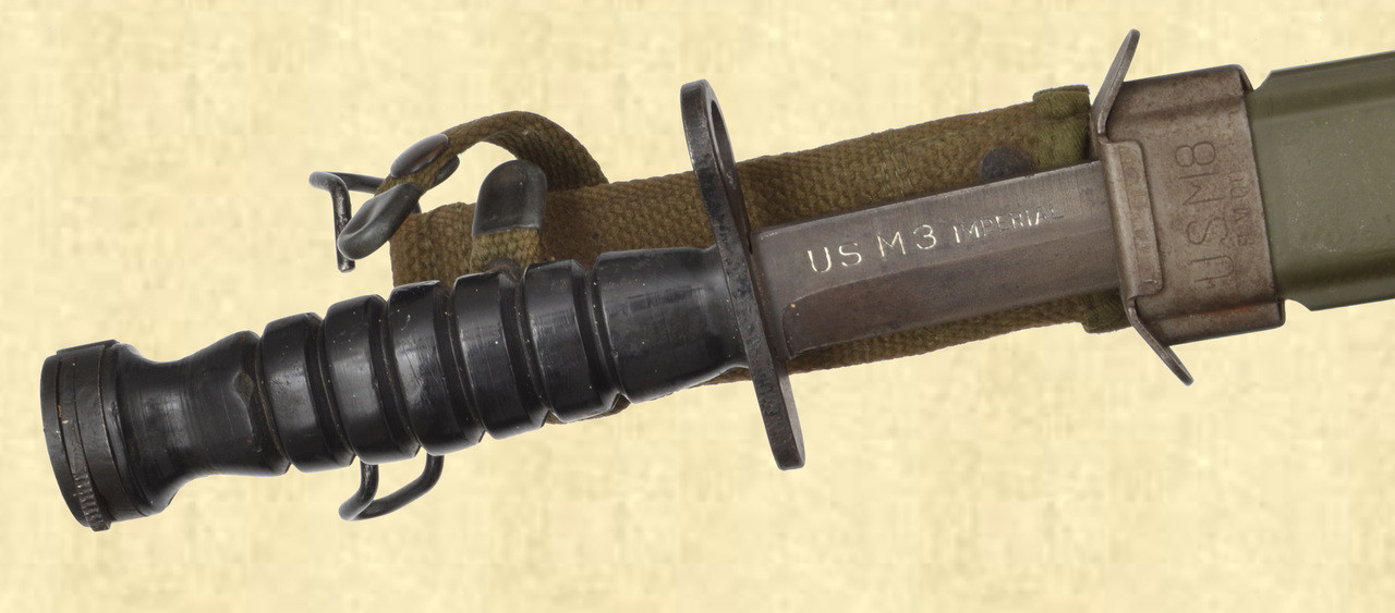 U.S. M4 BAYONET WITH SCABBARD - C42764