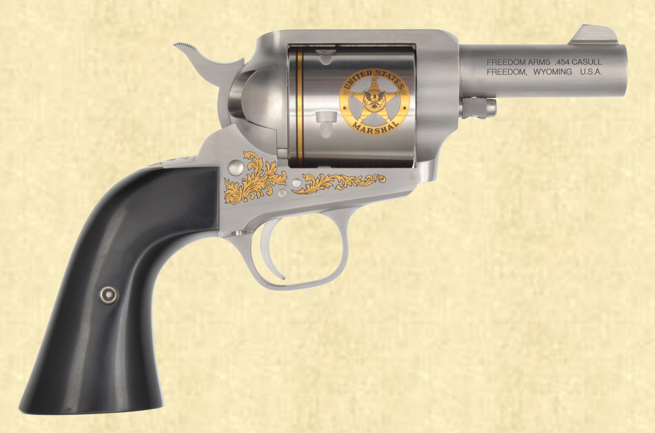 FREEDOM ARMS US MARSHALS COMMEMORATIVE - Z40561