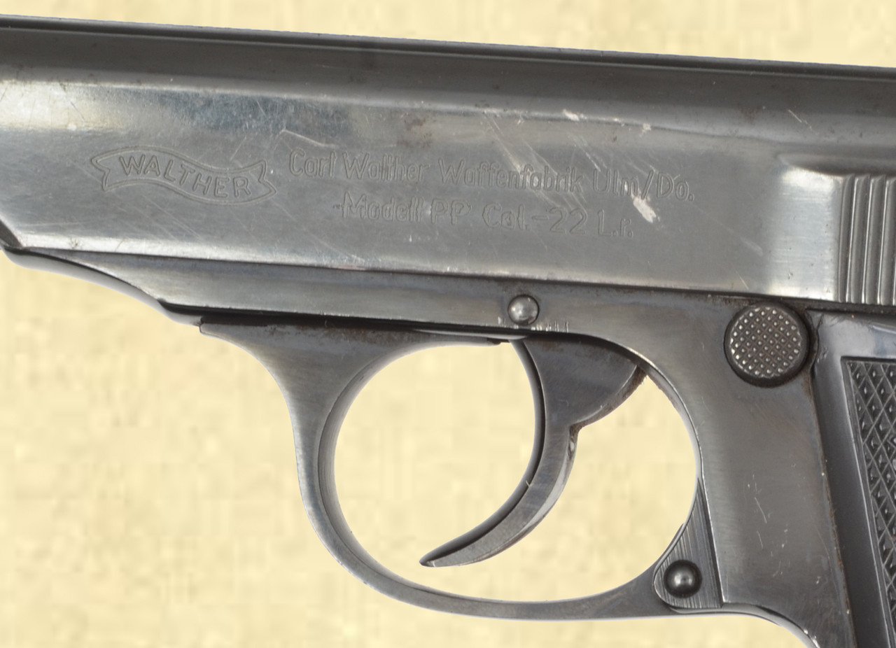 WALTHER PP ULM MANUFACTURED - Z41367