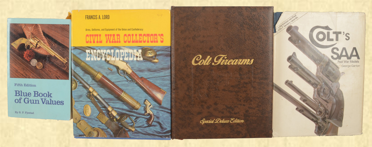 COLT COLT FIREARMS COLTS SAA LOT OF 4 BOOKS - M7533