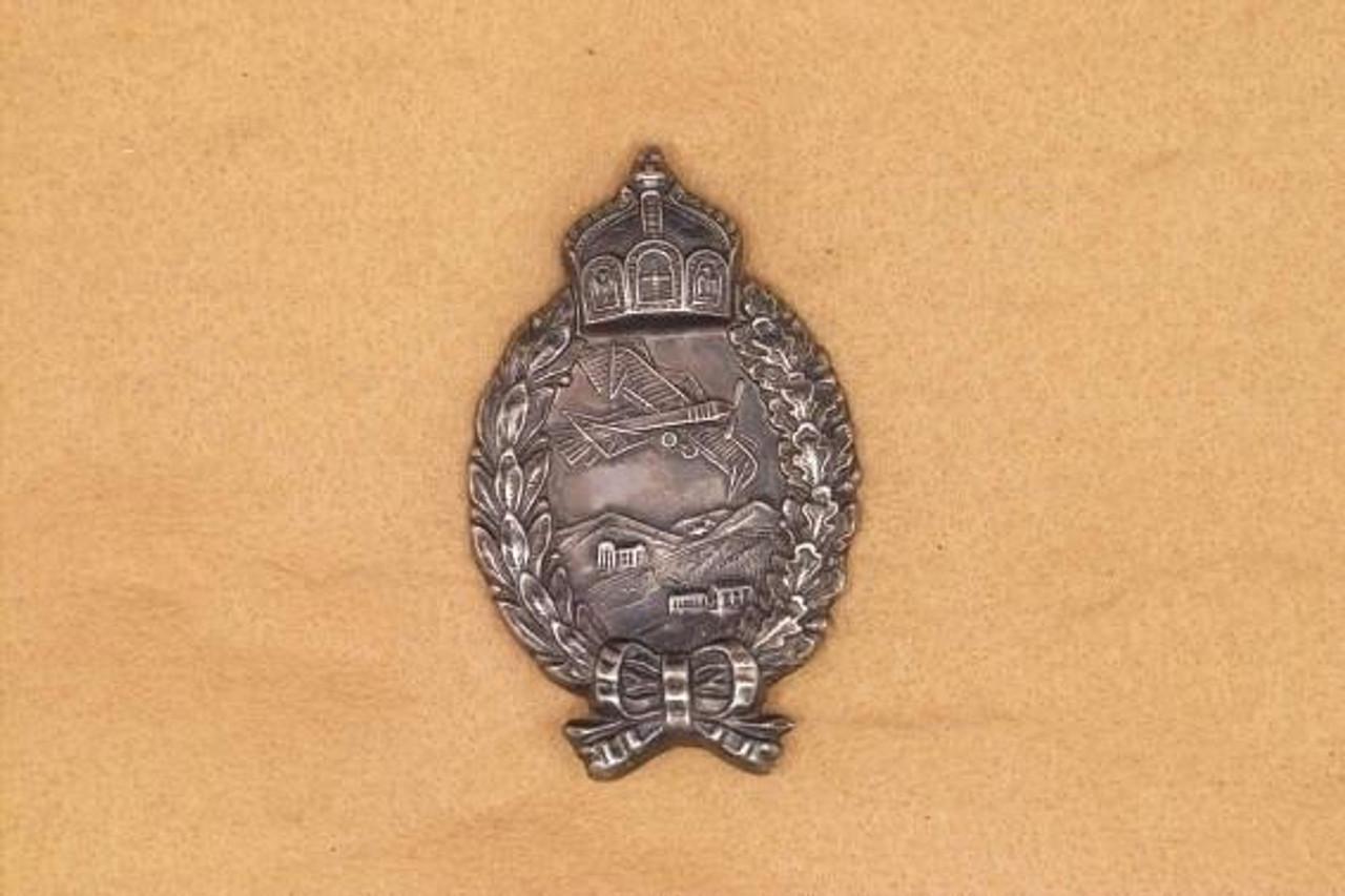 IMPERIAL GERMAN WWI PILOTS BADGE - M1512