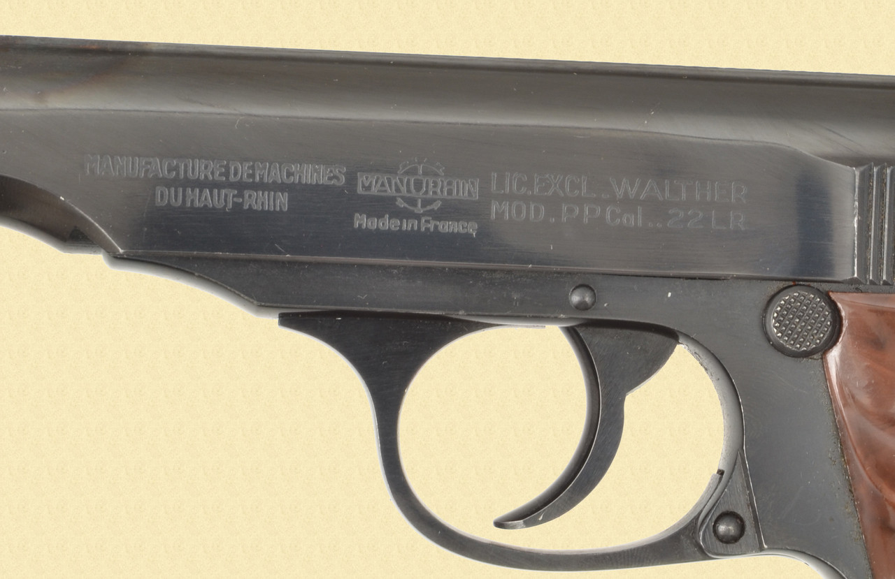 MANHURIN MODEL PP 22LR - Z42061