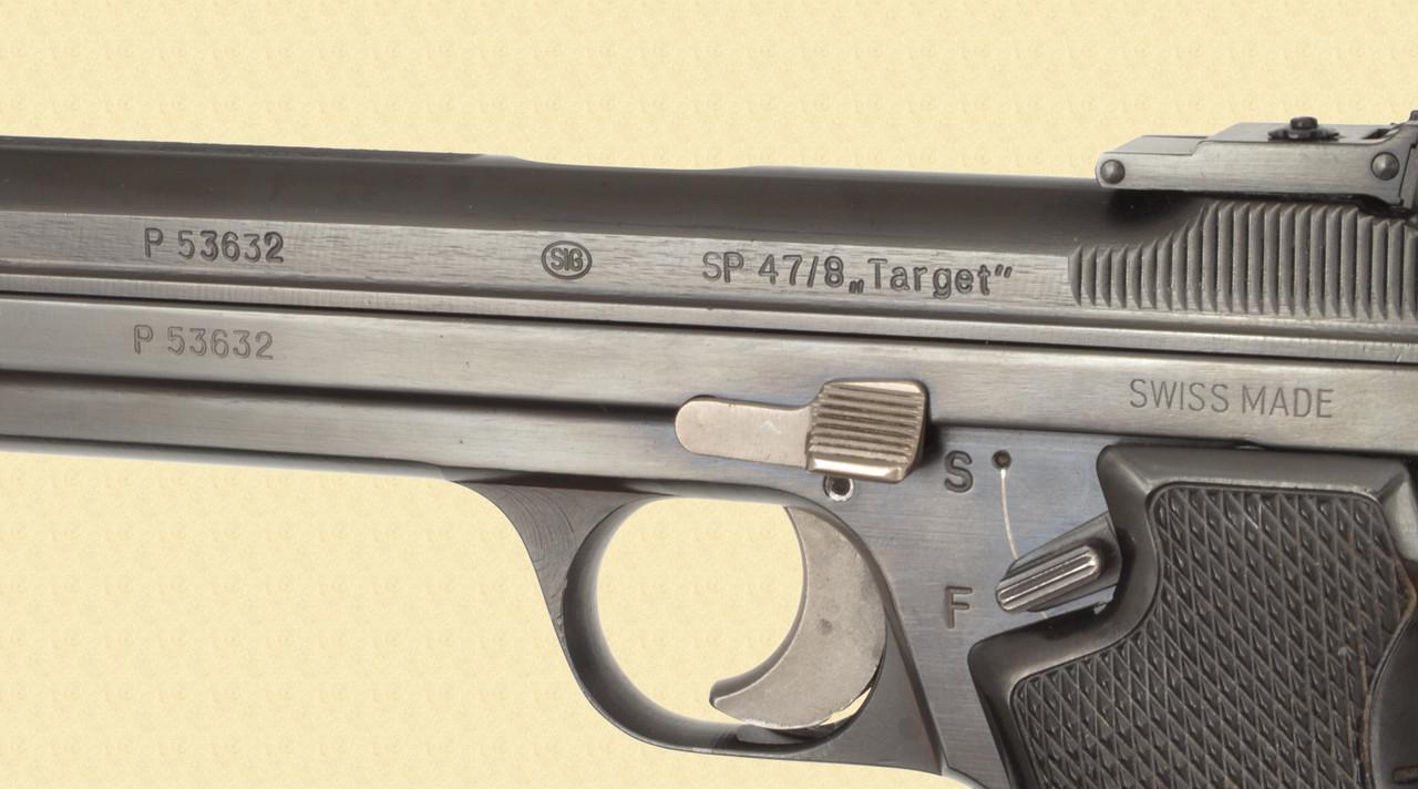 SIG NEUHAUSEN SP 4 7/8 TARGET - Z42037