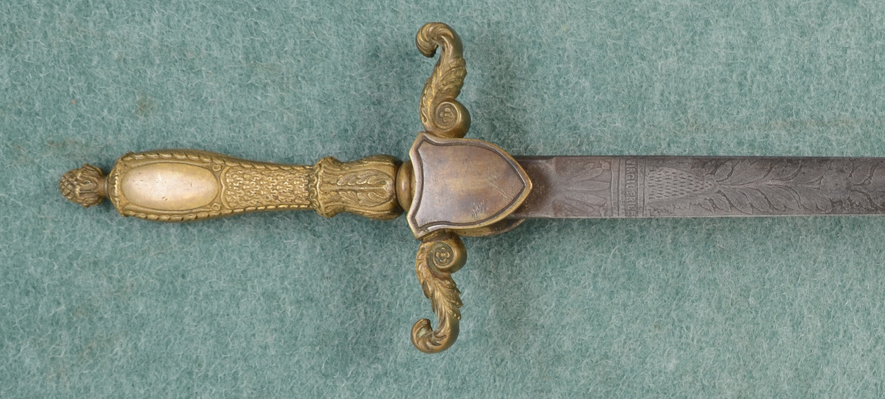 U.S. ARMY MODEL 1840 MEDICAL STAFF SWORD - C45008