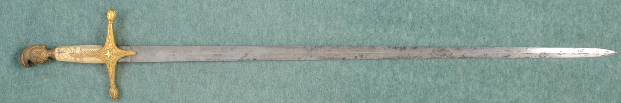U.S. MILITIA STAFF OFFICERS SWORD - C45010