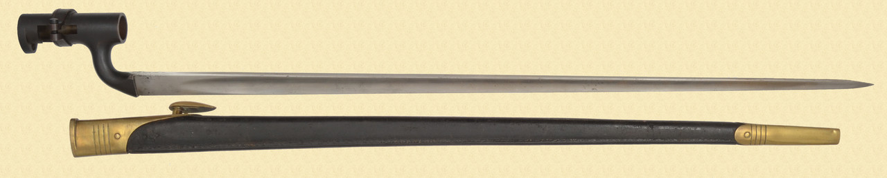 BRITISH P1876 MARTINI BAYONET - C45101
