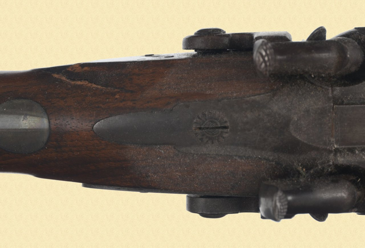 JOHN MULLIN ANTIQUE DOUBLE PERCUSSION - M1807