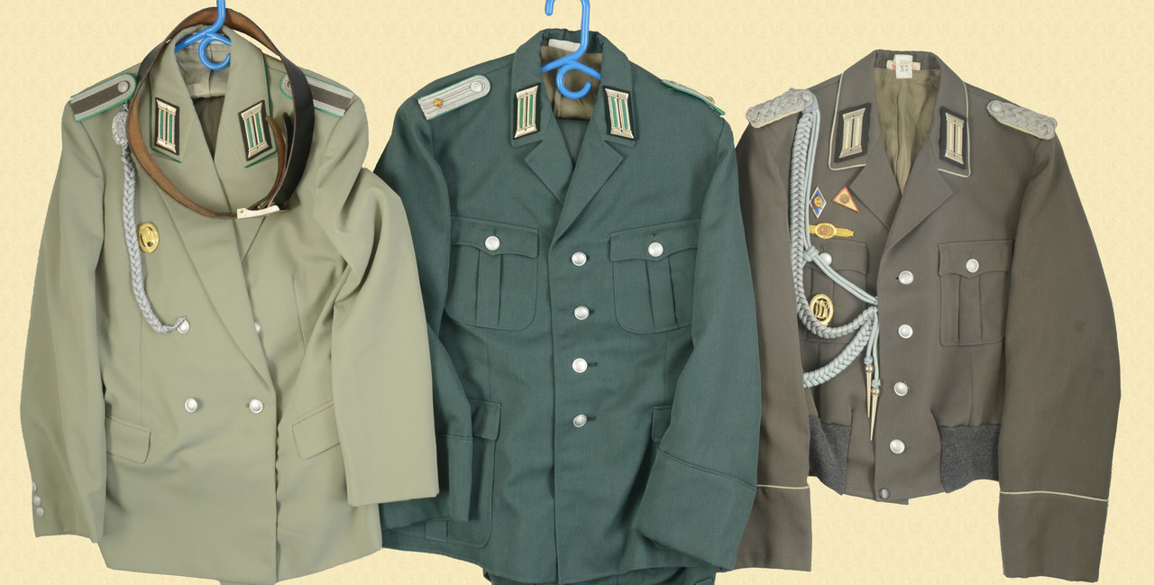 German East German-Officer Tunics - C45924