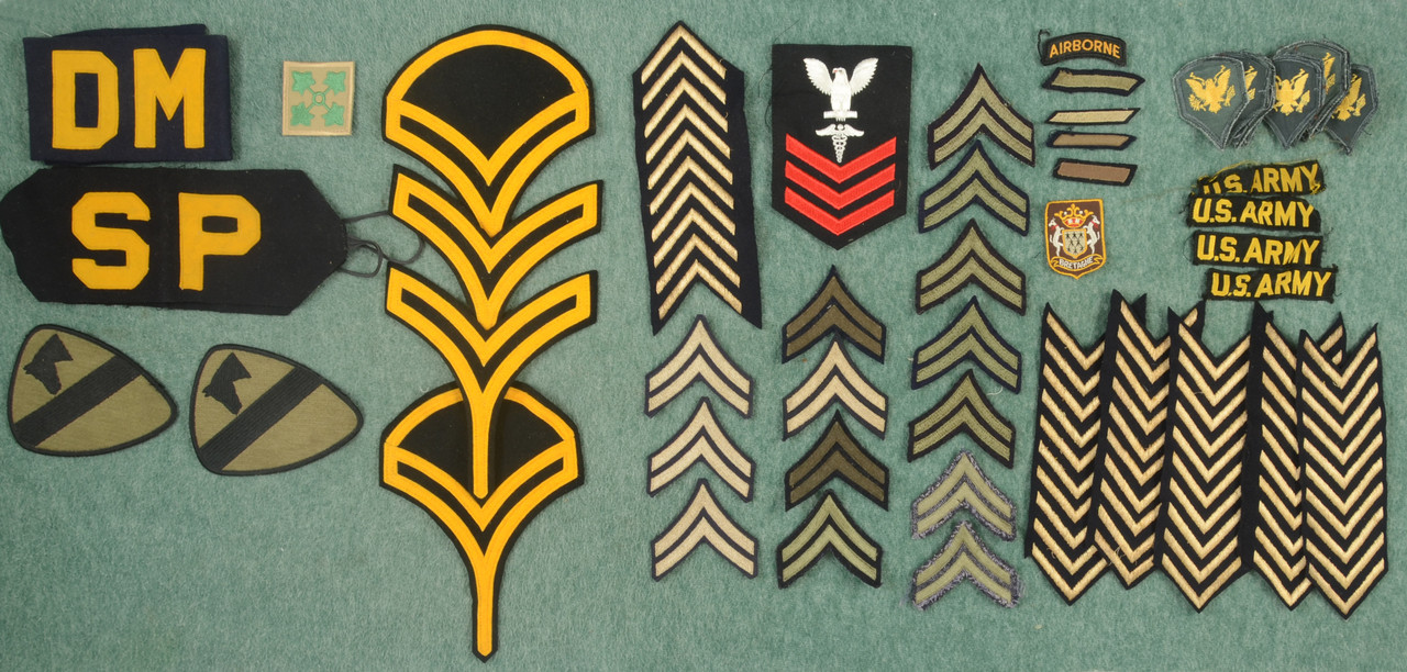 U.S. MILITARY PATCHES - C45965