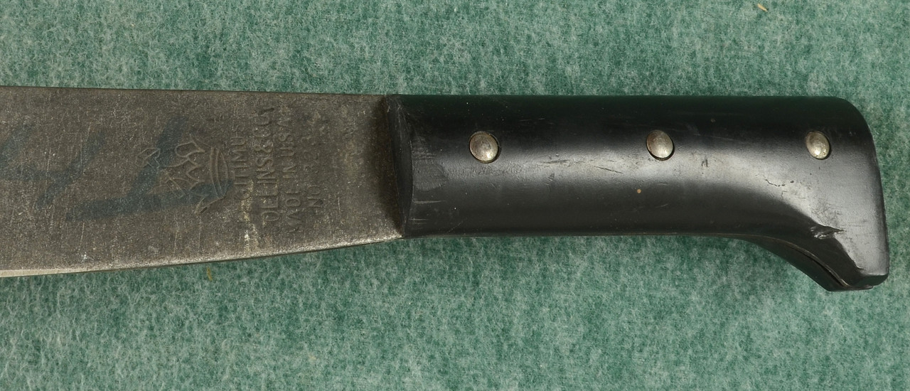 COLLINS & CO WW II NO 323 MACHETE - M7851