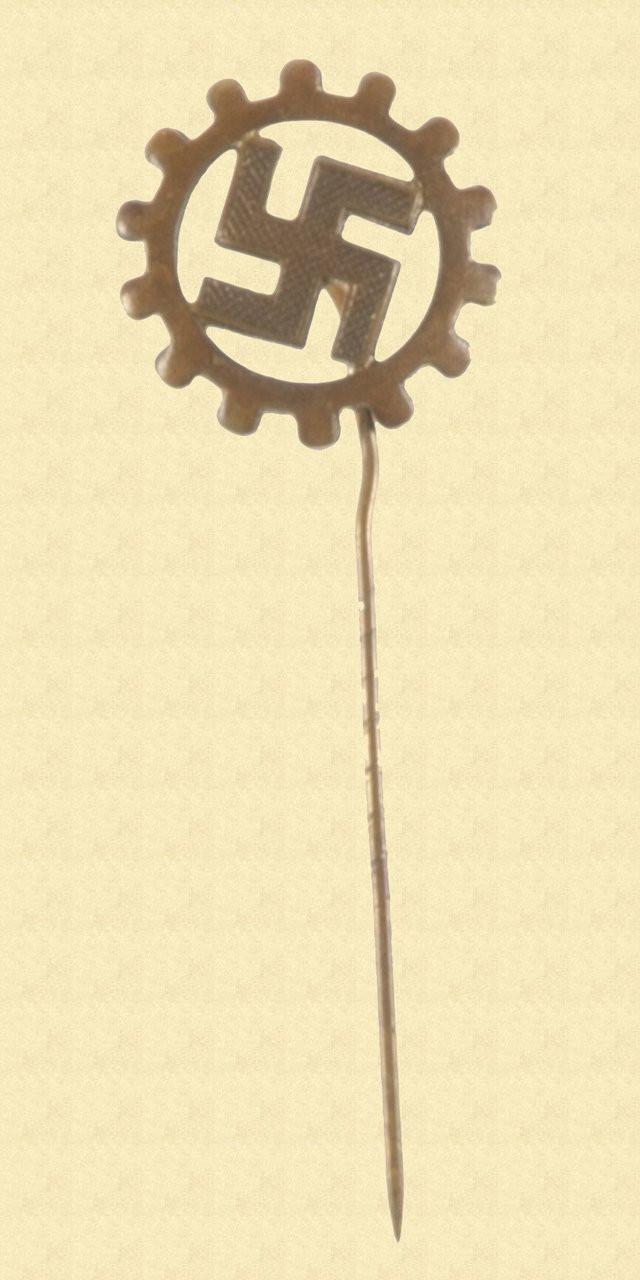 GERMAN WW2 DAF STICK PIN - C10514