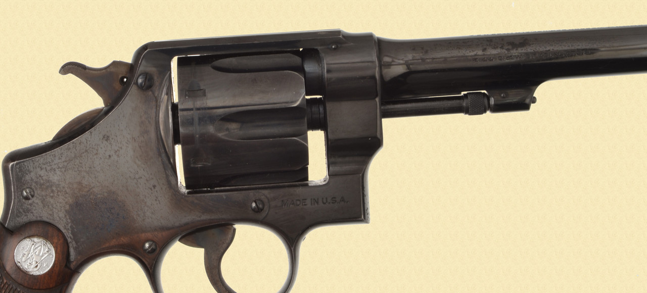 S&W 44 SPECIAL HAND EJECTOR 2ND MODEL - D15954
