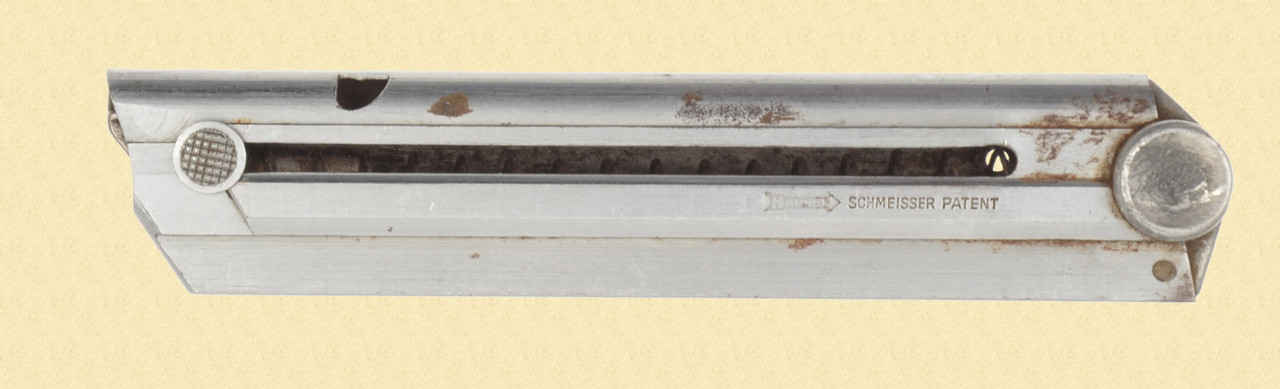 GERMAN LUGER MAG STAINLESS SHEET STEEL - C46926