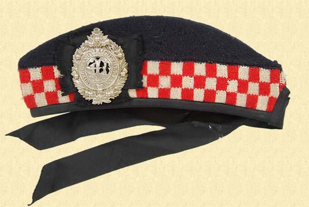 ROYAL ARGLL & SUTHERLAND CAP - M1681
