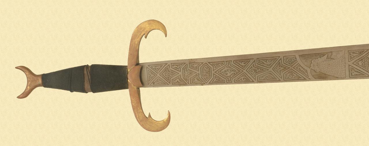 DECORATIVE EXECUTION SWORD - C30779