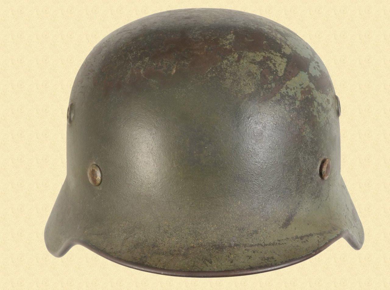 GERMAN M-35 CAMO HELMET - C41500