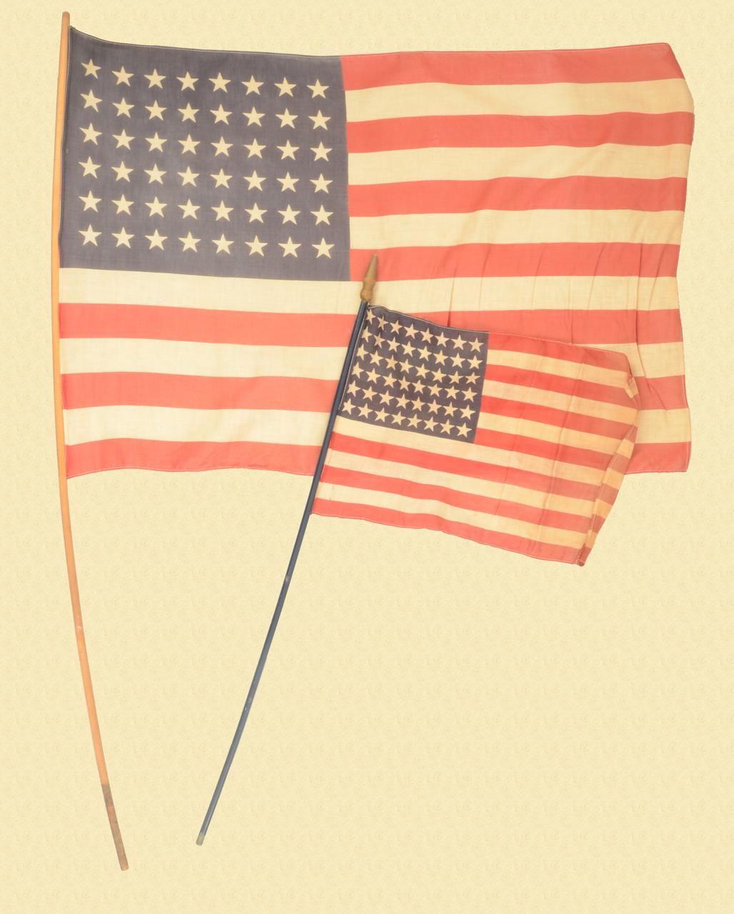 USA 48 STAR FLAGS - C48412