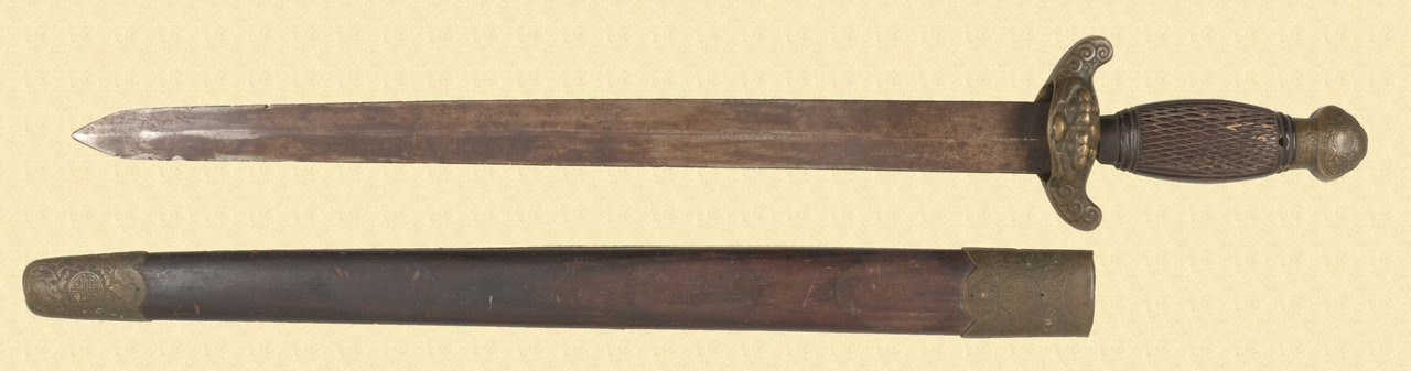CHINESE JIAN- SHORT SWORD - C40092