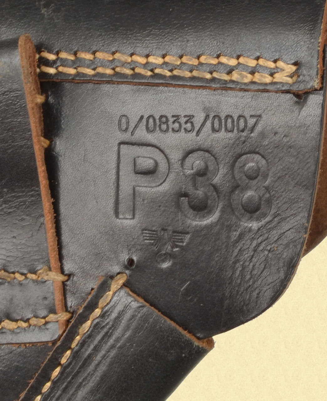 GERMAN P 38 POLICE HOLSTER - M7625