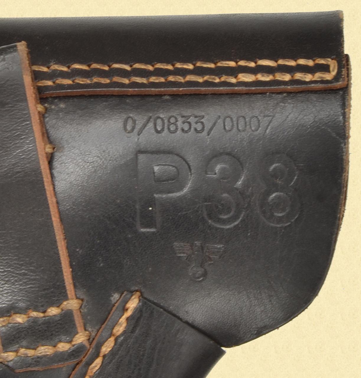 GERMAN P 38 POLICE HOLSTER - M7624