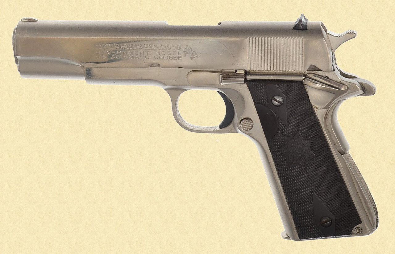 COLT GOVERNMENT MODEL SERIES 70 - Z34385