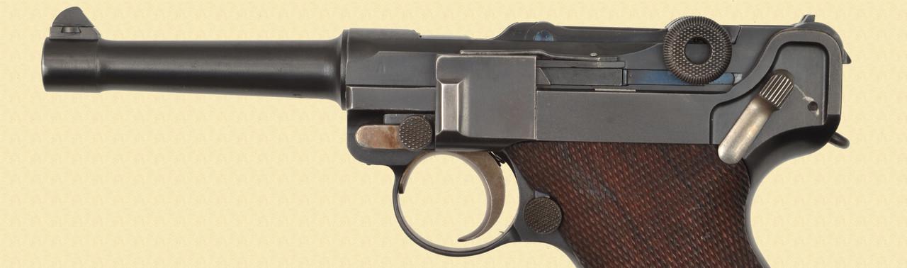 DWM HESSE POLICE LUGER RIG - D32186
