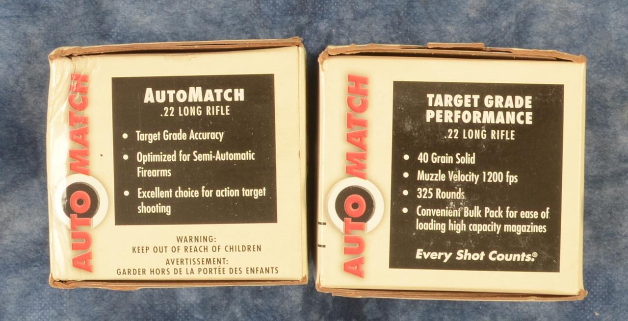 AMMUNITION 22 LR AUTO MATCH - C48862