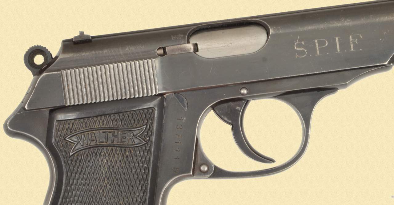 WALTHER PP .22  ZELLA MEHIS  S.P.I.F. - Z47933