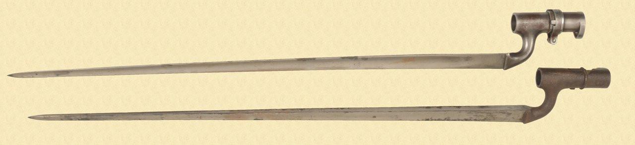 BRITISH SPIKE BAYONETS - C40061